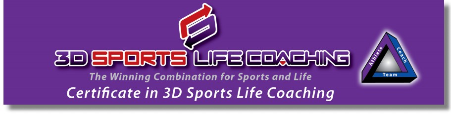 3D Sports Life Coaching - The Winning Combination for Sports and Life